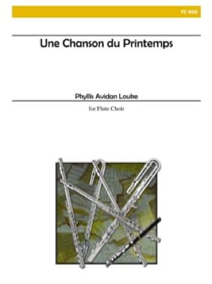 Une chanson du printemps - Flute choir - laflutedepan.com