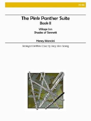 The Pink Panther Suite Book 2 - Flute choir - laflutedepan.com