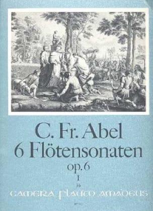 6 Sonaten op. 6 - Bd. 1 - Flöte u. Bc - laflutedepan.com