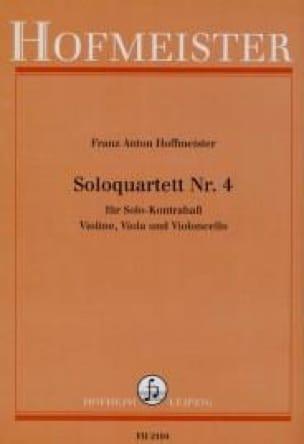 Soloquartett Nr. 4 -Partitur + Stimmen - laflutedepan.com