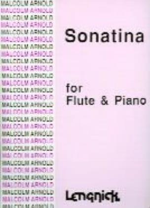 Sonatina - Flûte et Piano - Malcolm Arnold - laflutedepan.com