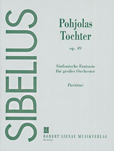 Jean Sibelius - Tochter Pohjolas op. 49 - Partition - di-arezzo.co.uk