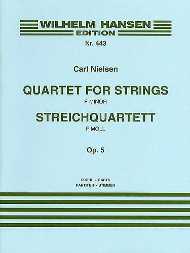 Quartett for strings op. 5 - Score + Parts - laflutedepan.com