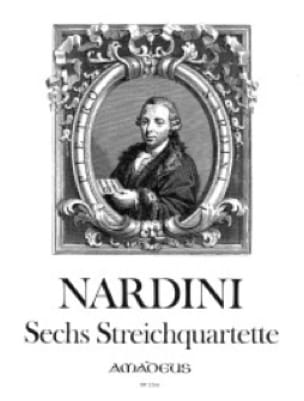 6 Streichquartette -Stimmen - Pietro Nardini - laflutedepan.com