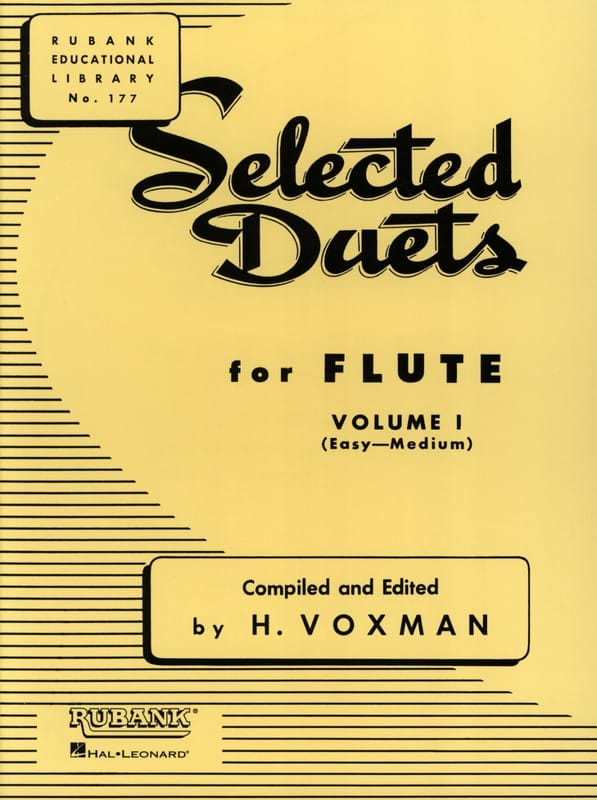 Selected Duets for Flute - Volume 1 - laflutedepan.com