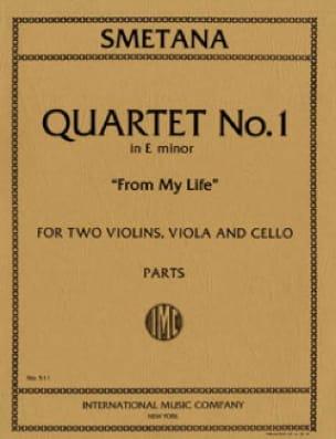 Bedrich Smetana - Quartet n ° 1 E minor From my life - Parts - Partition - di-arezzo.co.uk