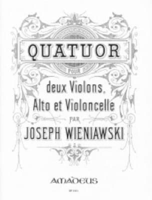 Quatuor op. 32 -Stimmen - WIENAWSKI - Partition - laflutedepan.com