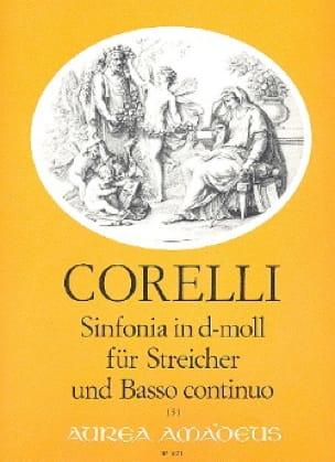 Sinfonia in d-moll -Streicher u. Bc - CORELLI - laflutedepan.com