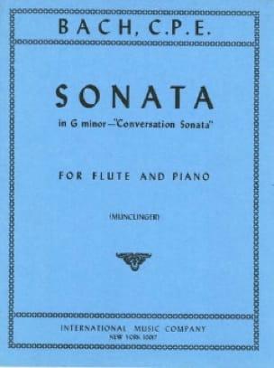 Conversation Sonata in G minor -Flute piano - laflutedepan.com