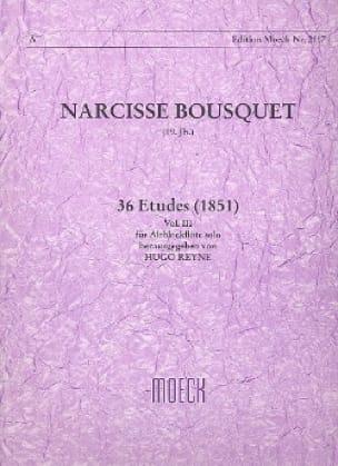 Narcisse Bousquet - 36 Studies 1851 - Volume 3 - Partition - di-arezzo.com