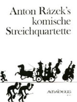 Komische Streichquartette - Stimmen - Anton Razek - laflutedepan.com