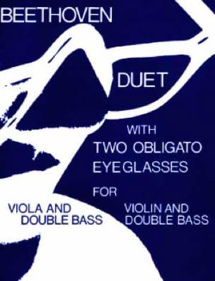 BEETHOVEN - Dueto con dos lentes Obligato - Partition - di-arezzo.es