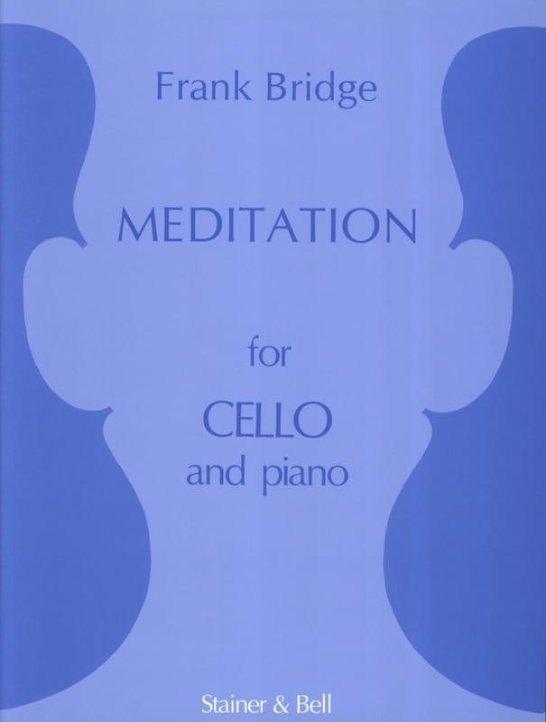Meditation - Cello - Frank Bridge - Partition - laflutedepan.com