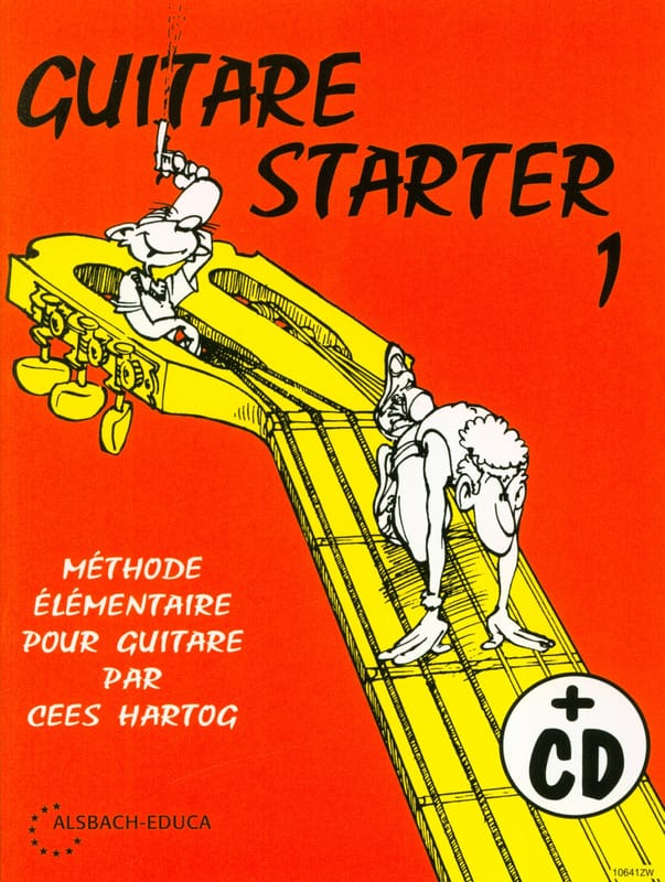 Cees Hartog - Guitar Starter Volume 1 - Partition - di-arezzo.co.uk