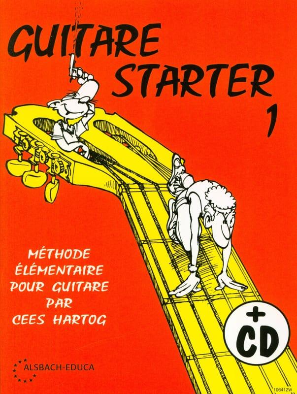 Cees Hartog - Guitar Starter Volume 1 - Partition - di-arezzo.com