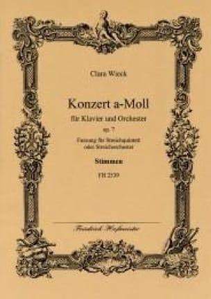 Concerto a-moll op. 7 -Streichquintett - Stimmen - laflutedepan.com