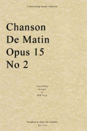 Chanson de Matin - String quartet - ELGAR - laflutedepan.com