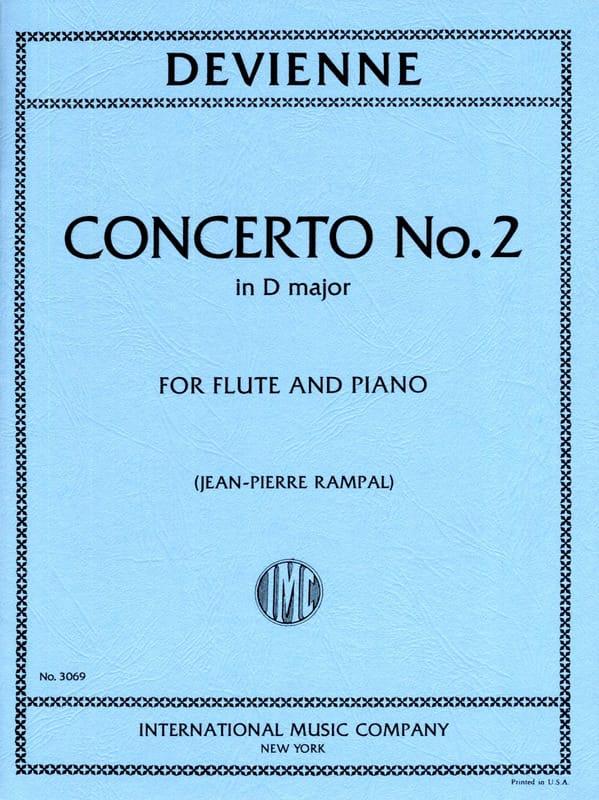 François Devienne - Concerto No. 2 in D major - Partition - di-arezzo.com