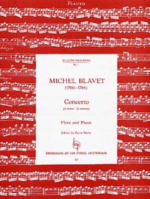 Michel Blavet - Concerto in A minor - Partition - di-arezzo.co.uk