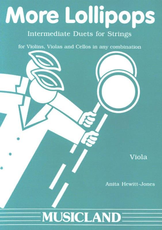 More Lollipops - Intermediate duets for Viola - laflutedepan.com