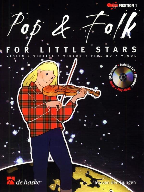 Jos van den Dungen - Pop - Folk for little stars - Partition - di-arezzo.co.uk