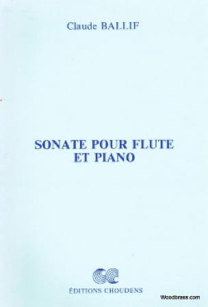 Sonate pour flûte et piano - Claude Ballif - laflutedepan.com