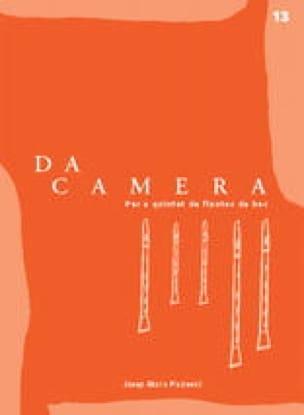 Da Camera - Volume 13 - recorder quintet - laflutedepan.com