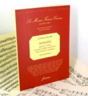 Jean-Marie Leclair - Sonatas 2nd Book - Fac simile - Partition - di-arezzo.co.uk