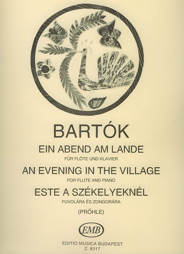 Ein Abend am Lande - BARTOK - Partition - laflutedepan.com