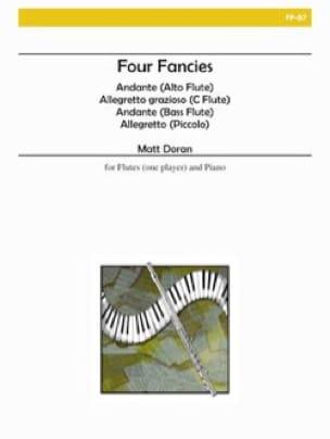 Four Fancies - Matt H. Doran - Partition - laflutedepan.com