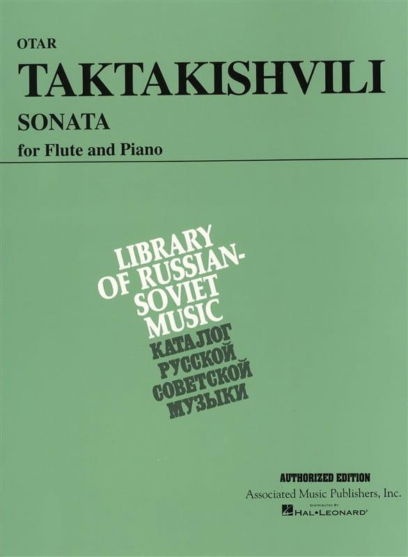 Sonata - Otar Taktakishvili - Partition - laflutedepan.com