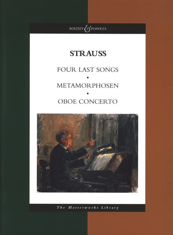 Richard Strauss - Four Last Songs - Metamorphosen - Oboe Concerto - Partition - di-arezzo.co.uk