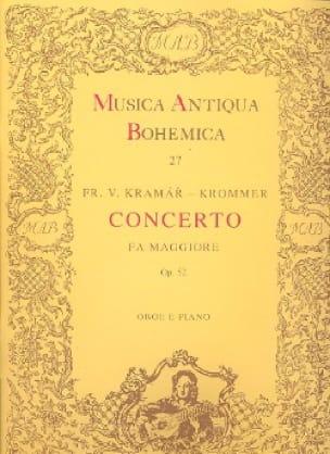 Concerto in fa maggiore op. 52 - Oboe piano - laflutedepan.com