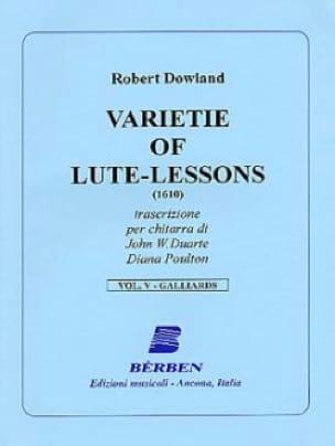 Varietie of Lute Lessons 1610 - Volume 5 - laflutedepan.com