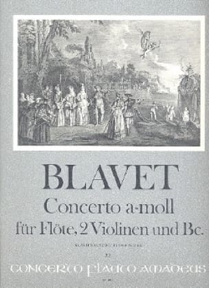 Michel Blavet - Concerto a-moll f. Flöte - Flöte Klavier - Partition - di-arezzo.fr