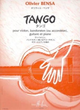 Tango -Parties + conducteur - Olivier Bensa - laflutedepan.com
