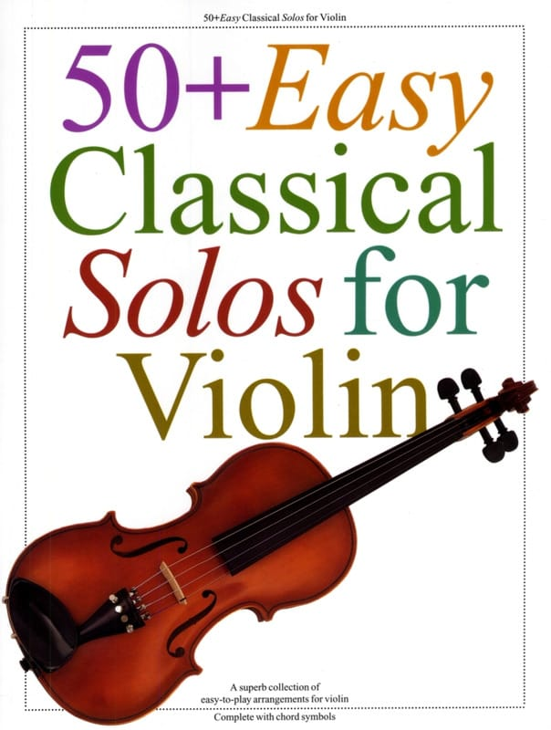 - 50 easy classical Solos for Violin - Partition - di-arezzo.co.uk