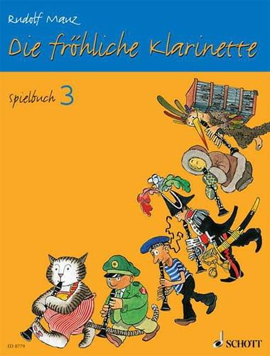 Die fröhliche Klarinette - Spielbuch 3 - laflutedepan.com