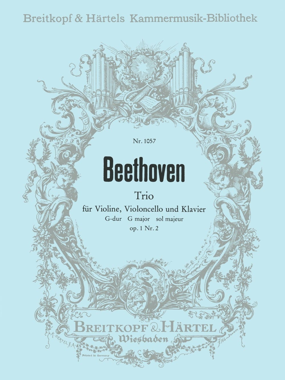 BEETHOVEN - Klaviertrio op. 1/2 G-Dur - Stimmen - Partition - di-arezzo.co.uk