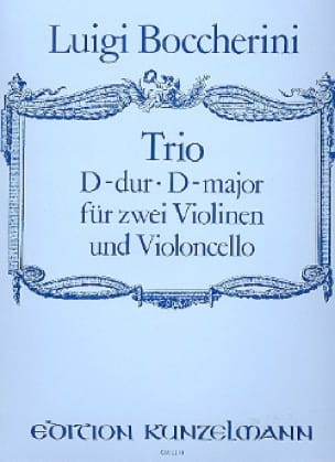 Trio D-Dur - 2 Violinen Violoncello - Partitur + Stimmen - laflutedepan.com