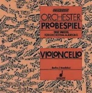 Orchester Probespiel CD - Violoncello - laflutedepan.com