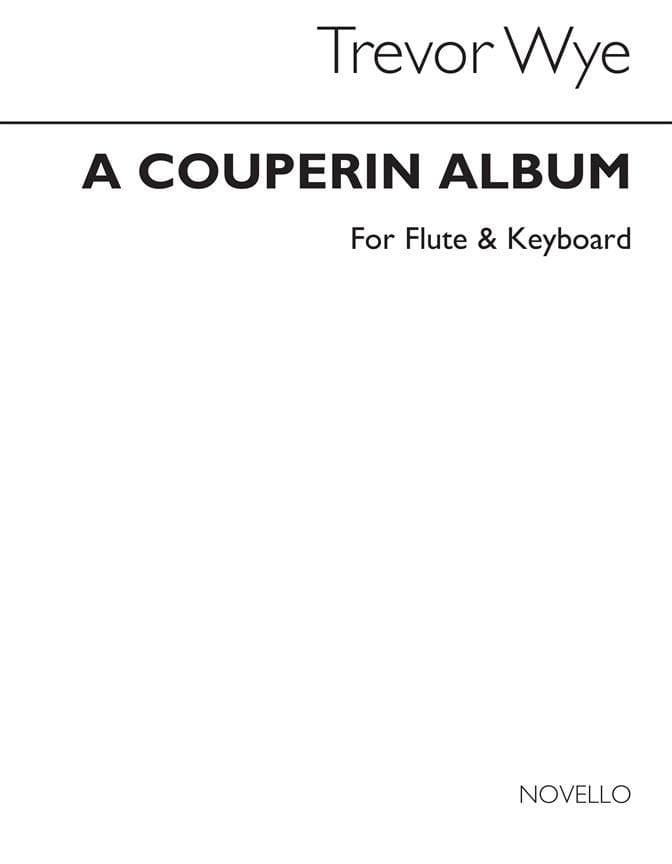A Couperin Album - Flute keyboard - COUPERIN - laflutedepan.com