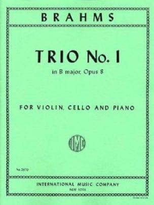Trio n° 1 B major op. 8 -Parts - BRAHMS - laflutedepan.com