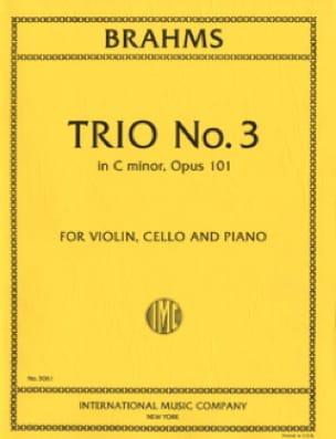 Trio n° 3 in C minor op. 101 -Parts - BRAHMS - laflutedepan.com