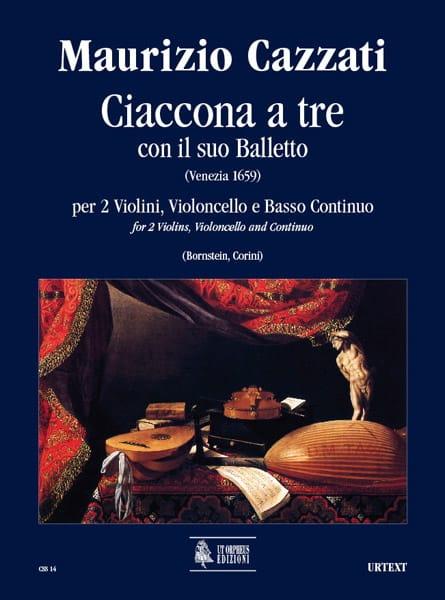 Maurizio Cazzati - Ciaccona to be con il suo balletto - Driver parts - Partition - di-arezzo.com