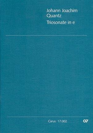 Triosonate in e QV 2 : 20 -Flöte Violine u. Bc - laflutedepan.com