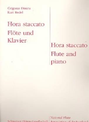 Hora Staccato - Dinicu Grigoras / Redel Kurt - laflutedepan.com