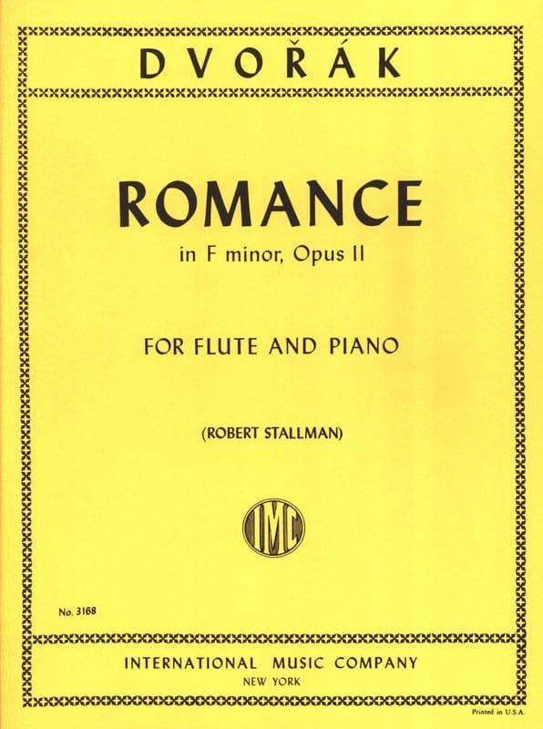 DVORAK - Romance in F major op. 11 - Flute piano - Partition - di-arezzo.co.uk