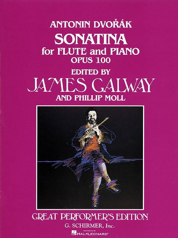 DVORAK - Sonatina in G op. 100 - Flute piano - Partition - di-arezzo.co.uk