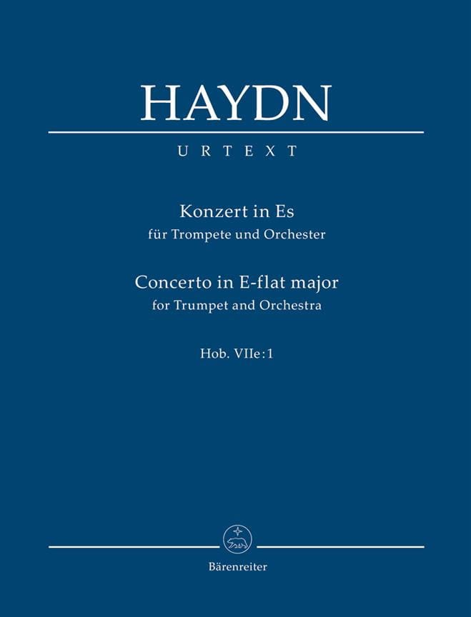 Trompetenkonzert Es-Dur. Urtext der Haydn-Gesamtausgabe - laflutedepan.com